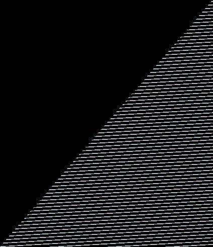 pattern of horizontal lines