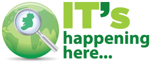 It's Happening Here Logo